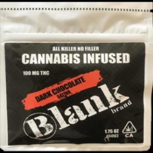 Blank Dark Chocolate Sativa 100mg