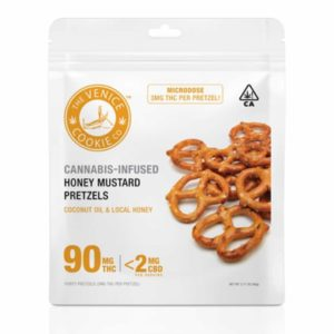 Honey Mustard Pretzels 90mg